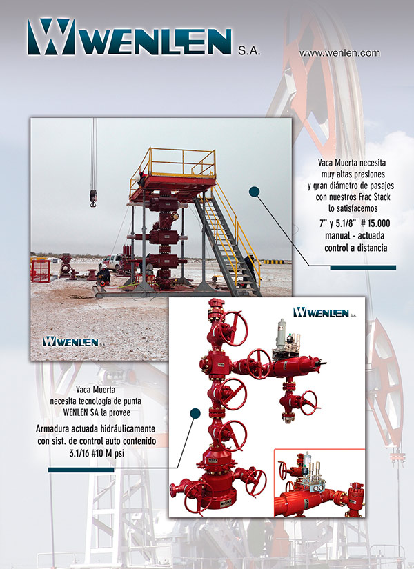 VACA MUERTA -HYDRAULICALLY ACTUATED TRUSS AND FRAC STACK